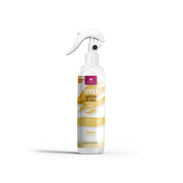 Spray Absoarbe mirosurile Cristalinas - Vanilla Cream 250 ml esteto.ro