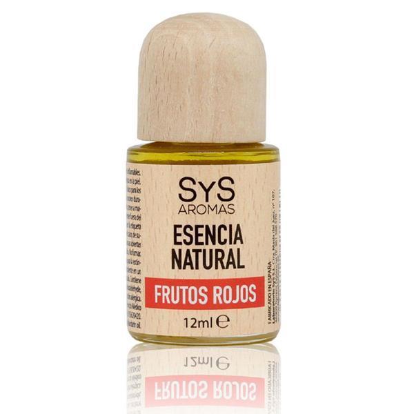 Esenţă naturală (ulei) aromaterapie SyS Aromas - Fructe roșii 12 ml imagine produs