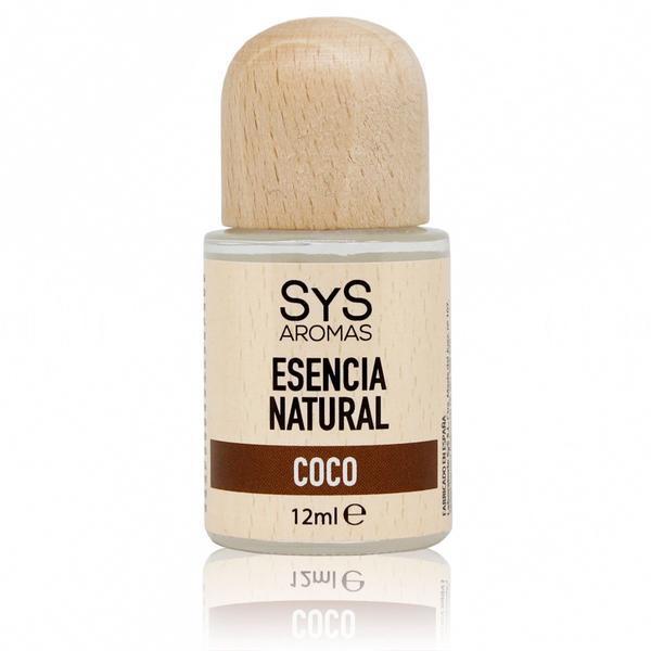 Esenţă naturală (ulei) aromaterapie SyS Aromas - cocos 12 ml imagine produs