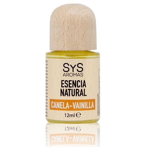 Esenţă naturală (ulei) aromaterapie SyS Aromas - scorţişoară si vanilie 12 ml imagine produs