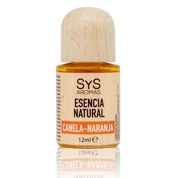 Esenţă naturală (ulei) aromaterapie SyS Aromas - scorţişoară si portocală 12 ml imagine produs