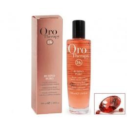 Ulei pentru par vopsit, Fanola Oro Therapy, Rubino Puro, 100 ml