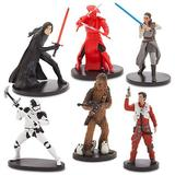 Set 6 figurine Star Wars: The Last Jedi - Disney