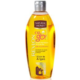 Ulei de Corp Revlon Natural Honey Oil & Go! Elixir de Argan, 300ml