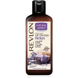 Gel de Dus Relaxant Revlon Natural Honey Oil Therapy Relax, 650ml