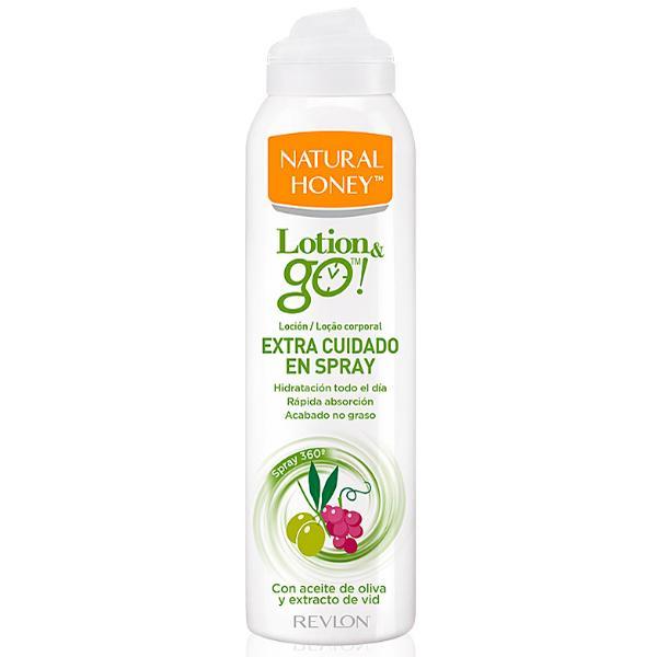 Lotiune de Corp Spray pentru Ingrijire Revlon Natural Honey Lotion & Go! Extra Cuidado, 200ml imagine produs