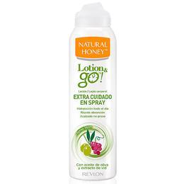 Lotiune de Corp Spray pentru Ingrijire Revlon Natural Honey Lotion & Go! Extra Cuidado, 200ml