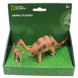 Set 2 figurine - Apatosaurus - National Geographic