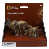 Set 2 figurine - Triceratops - National Geographic