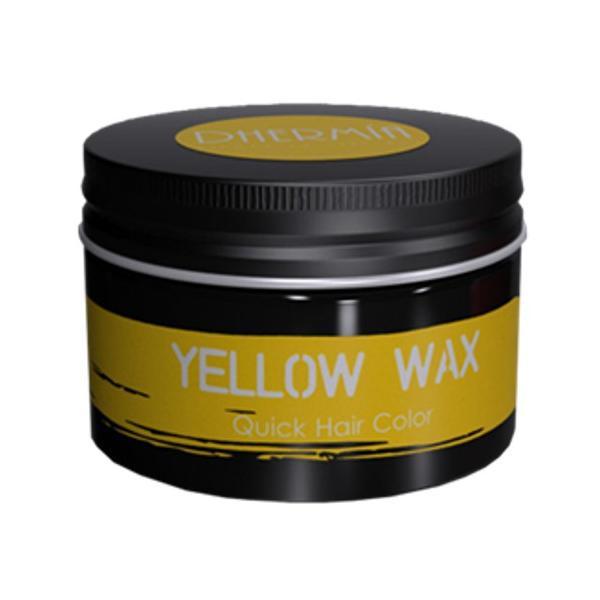 Ceara Modelatoare cu Pigment Galben - Dhermia Crazy Color Yellow Wax Quick Hair Color, 80ml imagine produs