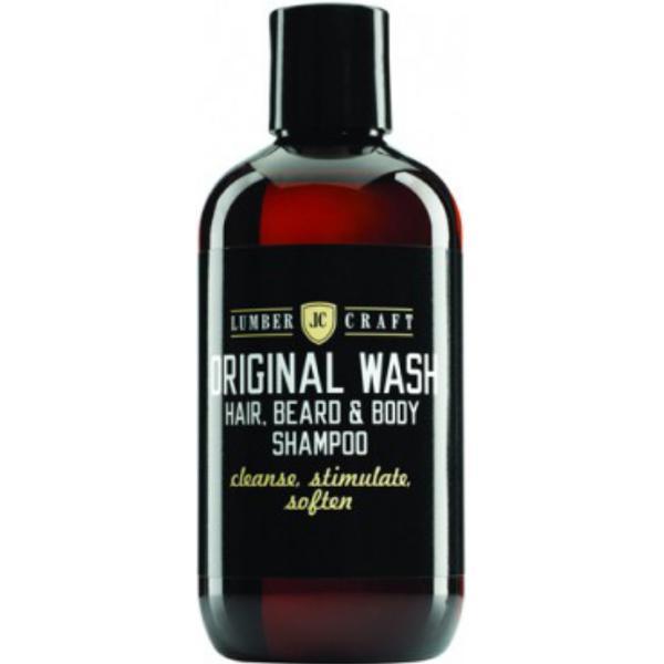 Sampon pentru Par si Corp - Subrina Lumber Craft Original Wash Hair, Beard & Body Shampoo, 250ml imagine