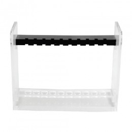 Stativ Vacutainer Universal Prima, fara gradatii, pentru 10 eprubete de 8 x 120mm