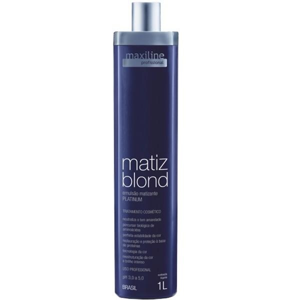 Emulsie Tratament Pentru Par Blond Maxiline Profissional Matiz Blond