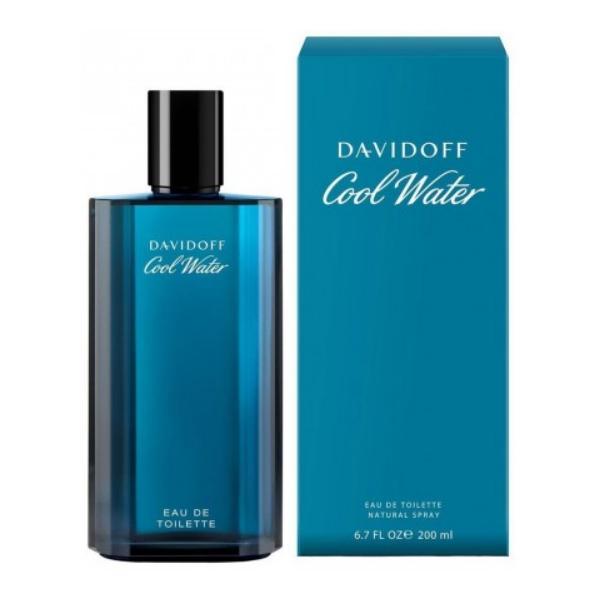 Apa de Toaleta Davidoff Cool Water, Barbati, 200ml poza
