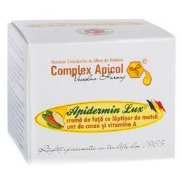 Crema pentru Fata Apidermin Lux, Complex Apicol Veceslav Harnaj, 50ml