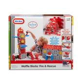 Blocuri De Constructie - Sectie Pompieri - Little Tikes