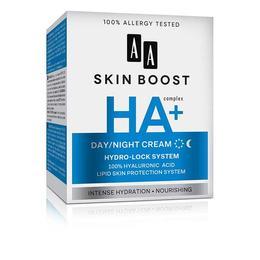 Crema de zi si de noapte cu acid hyaluronic SKIN BOOST HA - 50 ml