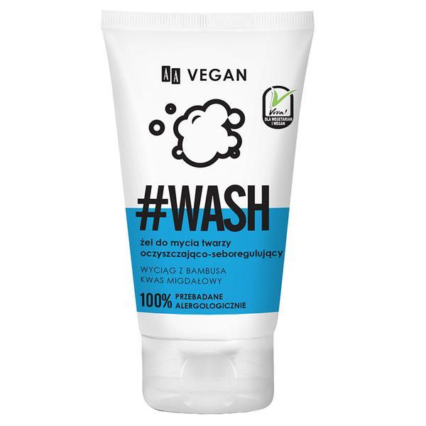 Gel de curatare reglare sebum AA Vegan Wash Oceanic - 150 ml imagine produs