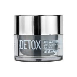 Masca detoxifianta cu carbune si argila pura Regal Detox - DX3 - Rosa Impex - 45 ml