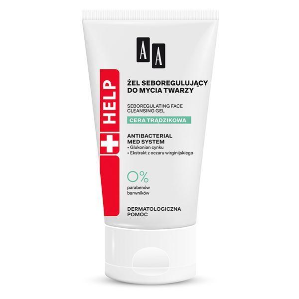 Gel de curatare pentru ten cu acnee sebum control AA Help Oceanic - 150 ml imagine produs