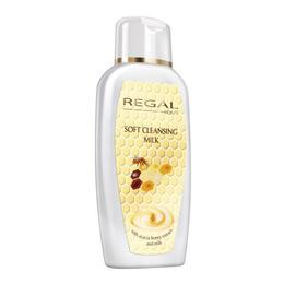 Lapte demachiant cu lapte si miere de salcam Regal Soft Cleasing Milk - Rosa Impex - 250 ml