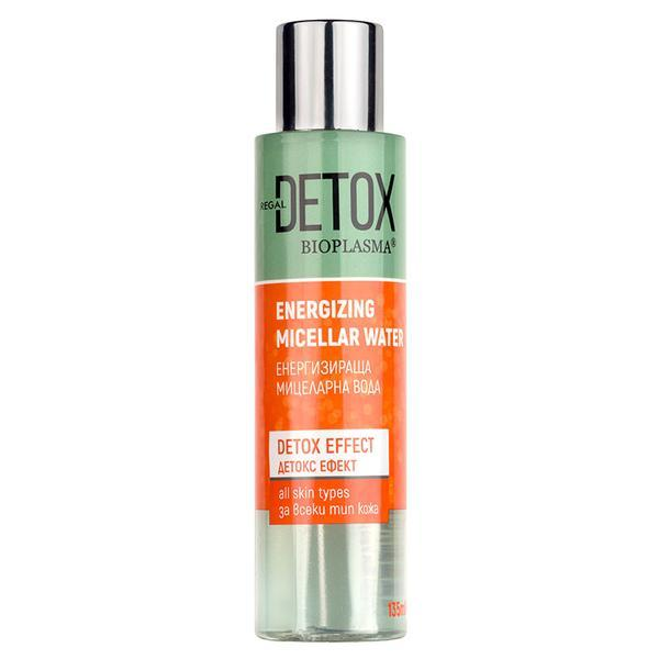 Apa micelara cu actiune detoxifianta Regal Detox - DX2 Rosa Impex - 135 ml imagine produs