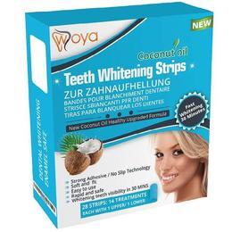 Benzi albirea dintilor cu ulei de Cocos Natural - Teeth Whitening strips coconut oil 28 buc