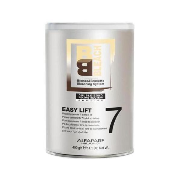 Pudra Decoloranta 7 Tonuri - Alfaparf Milano BB Bleach Easy Lift Bleaching Powder 7 Levels of Lift, 400g poza
