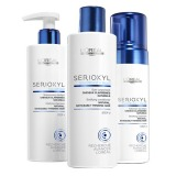 Set pentru Par Natural Subtire si Fragil - L'Oreal Professionnel Serioxyl Kit 1 for Natural Thinning Hair