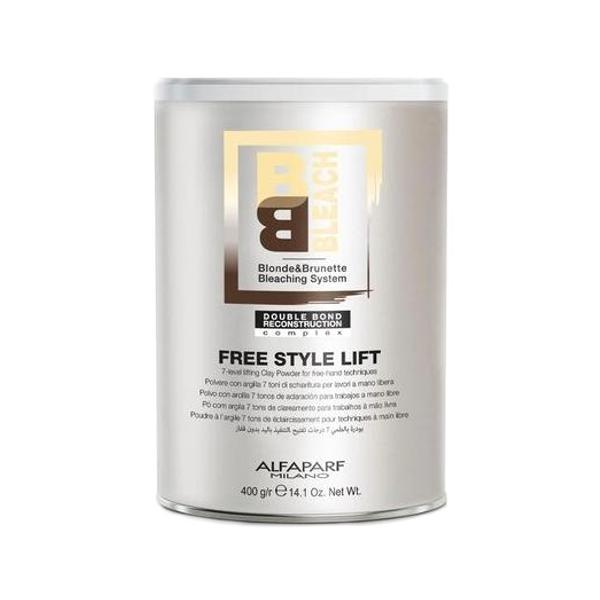 Pudra Decoloranta pentru Tehnici Libere - Alfaparf Milano BB Bleach Free Style Lift Bleaching Powder, 400g poza