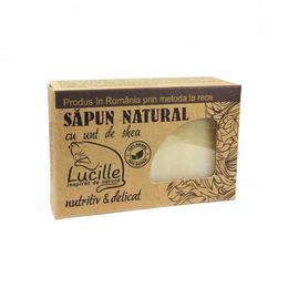 Sapun natural cu unt de shea - nutritiv si delicat, Lucille, 90 g