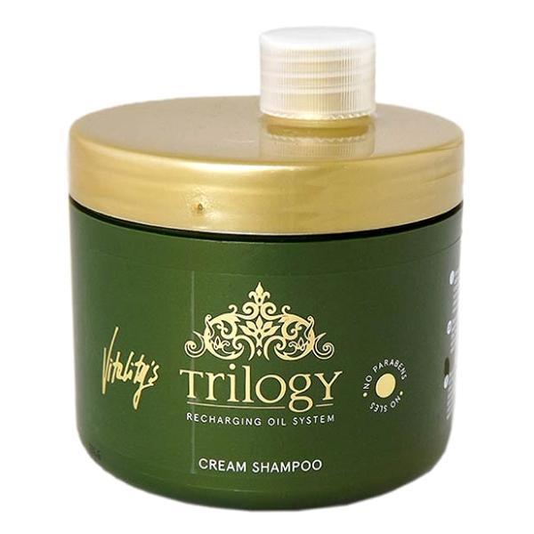 Sampon Cremos pentru Par Uscat - Vitality's Trilogy Cream Shampoo, 450ml