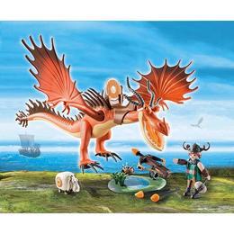 Playmobil Dragons - Snotlout Si Hookfang