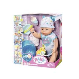 Baby Born - Bebelus Baiat Interactiv Cu Corp Moale - Zapf