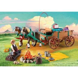 Playmobil Spirit - Tatal Lui Lucky si Trasura
