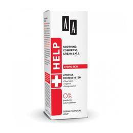 Crema compresiva de calmare S.O.S. pentru ten atopic AA Help Soothing Compress Cream S.O.S 40 ML
