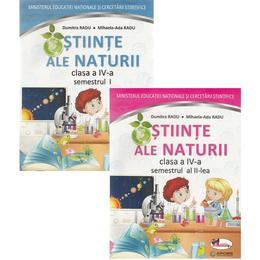 Stiinte ale naturii - Clasa 4. Sem.1+2 - Manual + CD - Mihaela-Ada Radu, Dumitra Radu, editura Aramis