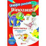 Uneste punctele - Dinozaurii, editura Unicart