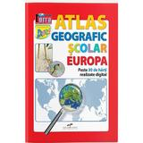Atlas geografic scolar: Europa, editura Cd Press