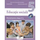 Educatie sociala - Clasa 5 - Manual + CD - Daniela Barbu, Cristiana Ana-Maria Boca, editura Cd Press