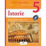 Istorie - Clasa 5 - Manual + CD - Stan Stoica, Dragos Sebastian Becheru, editura Cd Press