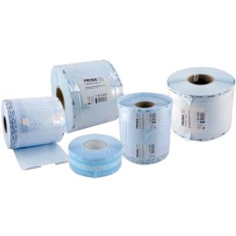 Rola cu Pliu Sterilizare Prima, pentru autoclav/EO, 75mm x 25mm x 100m