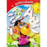 123 + ABC - Autocolante - Inesa Tautu, editura Dorinta