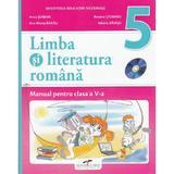 Romana - Clasa 5 - Manual + CD - Anca Serban, Roxana Ciobanu, Ana-Maria Barau, Iuliana Baiasu, editura Cd Press