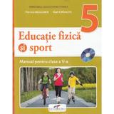Educatie fizica si sport - Clasa 5 - Manual + CD - Petrica Dragomir, Titel Iordache, editura Cd Press