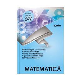 Matematica - Clasa 5 - Manual + CD - Radu Gologan, Camelia Elena Neta, editura Corint