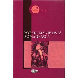 Poezia manierista romaneasca, editura Stiinta