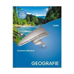 Geografie - Clasa 5 - Manual + CD - Octavian Mandrut, editura Corint