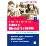 Limba romana - Clasa 8 - Ghid de pregatire Evaluare nationala - Ion Popa, Marinela Popa, editura Niculescu