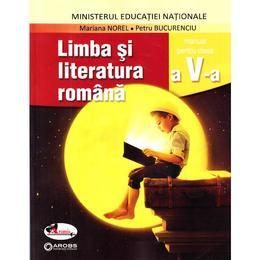 Limba romana - Clasa 5 - Manual + CD - Mariana Norel, Petru Bucurenciu, editura Aramis